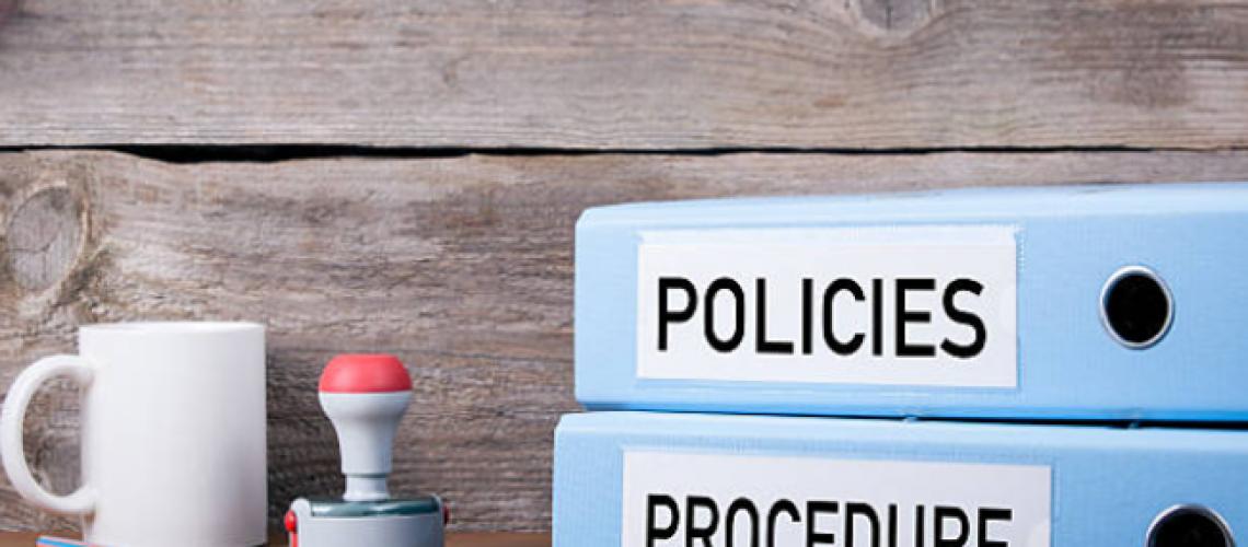politici proceduri GDPR